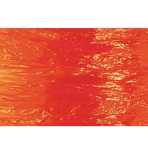 100YD ORANGE PEARLIZED RAFFIA