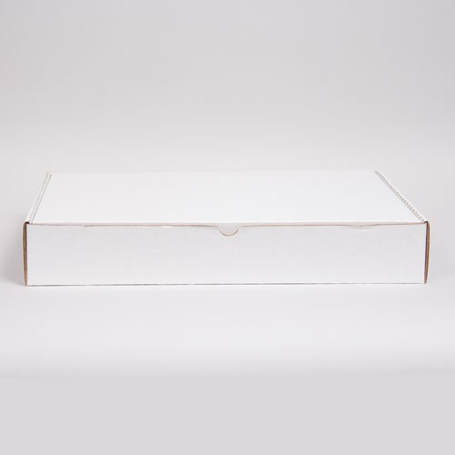 17 x 11 x 2.5 WHITE CORRUGATED TUCK-TOP MAILING BOXES