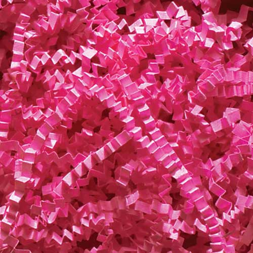 10lb. SPRING-FILL FUCHSIA CRINKLE CUT PAPER SHRED