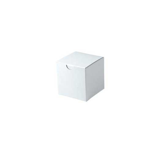 3 x 3 x 3 WHITE GLOSS TUCK-TOP GIFT BOXES