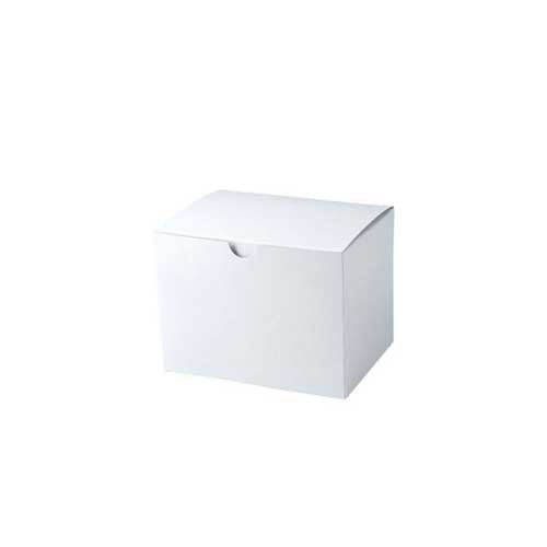 5 x 5 x 3 WHITE GLOSS TUCK-TOP GIFT BOXES
