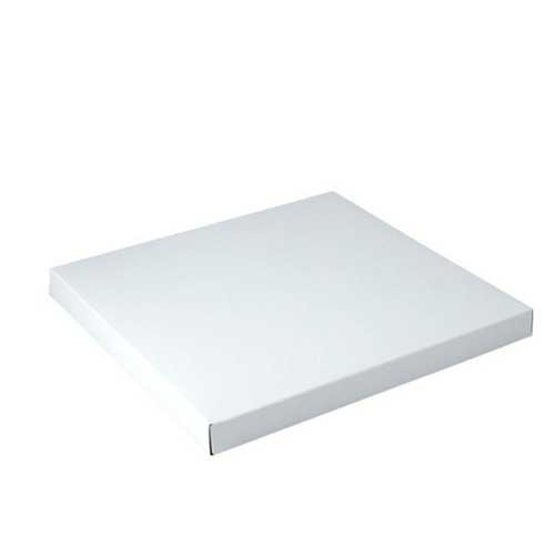 12 x 12 x 2.5 WHITE GLOSS TWO-PIECE GIFT BOXES