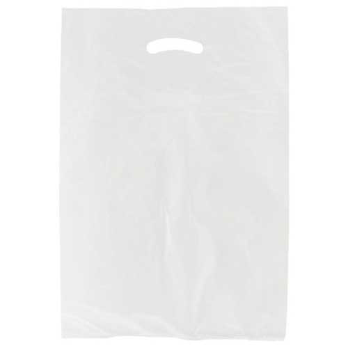 Hi-Density Plastic Bags - White