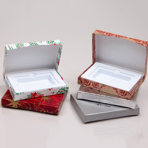 Holiday Platform Gift Card Boxes