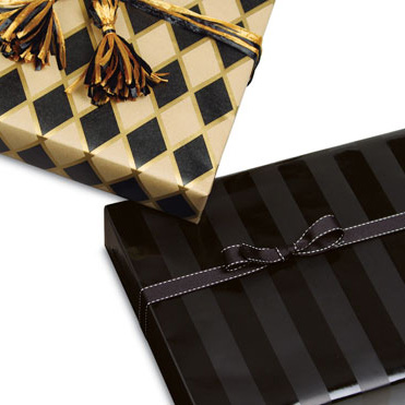 Masculine Gift Wrap