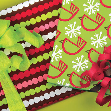 Hip Holiday Gift Wrap