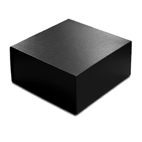 6 X 6 X 2 3 4 Black Leather Magnetic Gift Box
