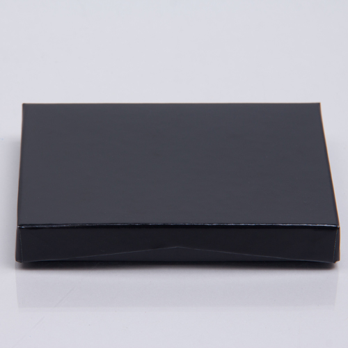 4-5/8 x 3-3/8 x 5/8 BLACK ICE GIFT CARD BOX WITH POP-UP INSERT