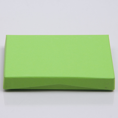 4-5/8 x 3-3/8 x 5/8 LIME MATTE GIFT CARD BOX WITH POP-UP INSERT