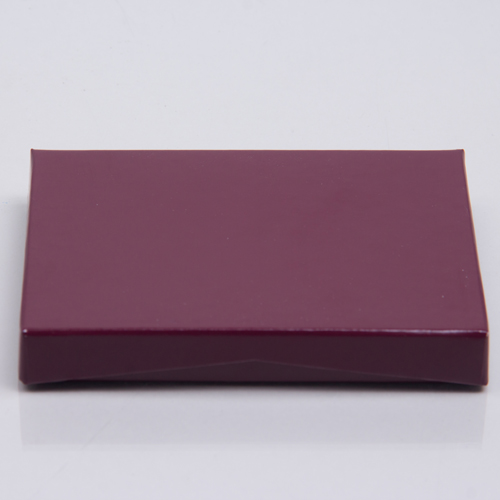 4-5/8 x 3-3/8 x 5/8 MERLOT ICE GIFT CARD BOX WITH POP-UP INSERT