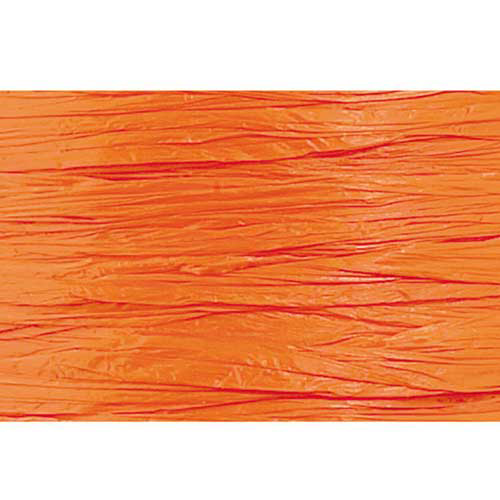 100YD ORANGE MATTE WRAPHIA