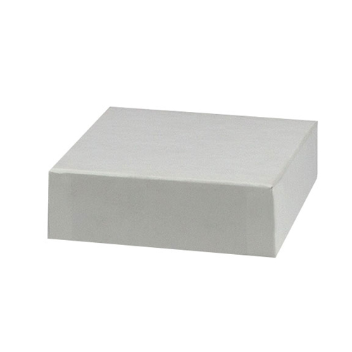4 x 4 WHITE GLOSS HI-WALL BOX LIDS *BASES SOLD SEPARATELY*