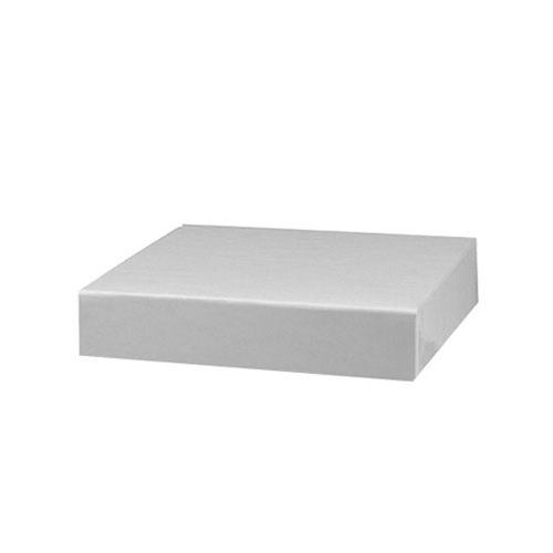 5 x 5 WHITE GLOSS HI-WALL BOX LIDS *BASES SOLD SEPARATELY*