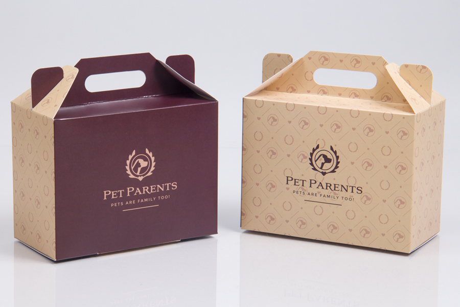 Custom Printed Tucktop Giftware Boxes with Hot Stamp Printing