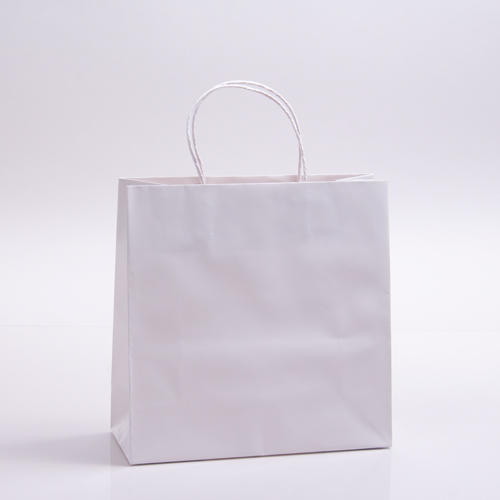 10 x 4 x 10 SOPHIE WHITE PAPER SHOPPING BAGS