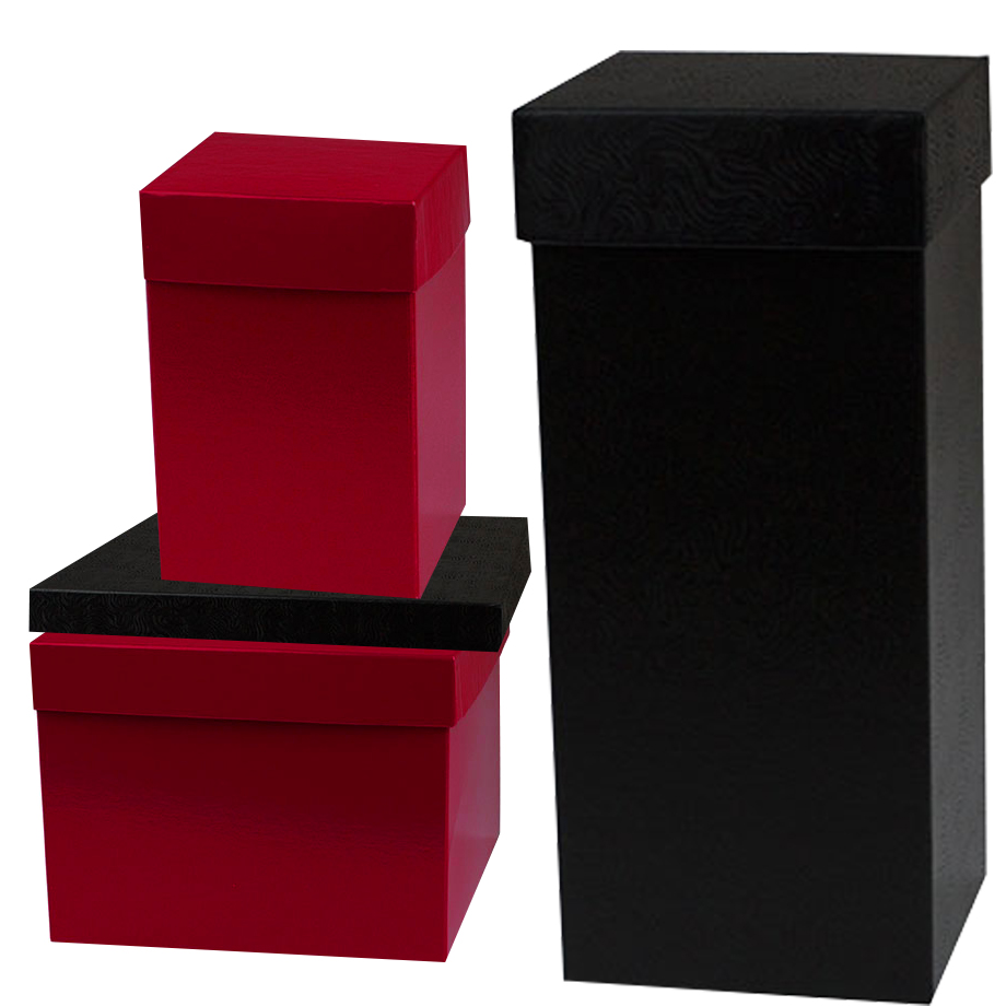 Gift Boxes & Lids - Hi-Wall - Colors