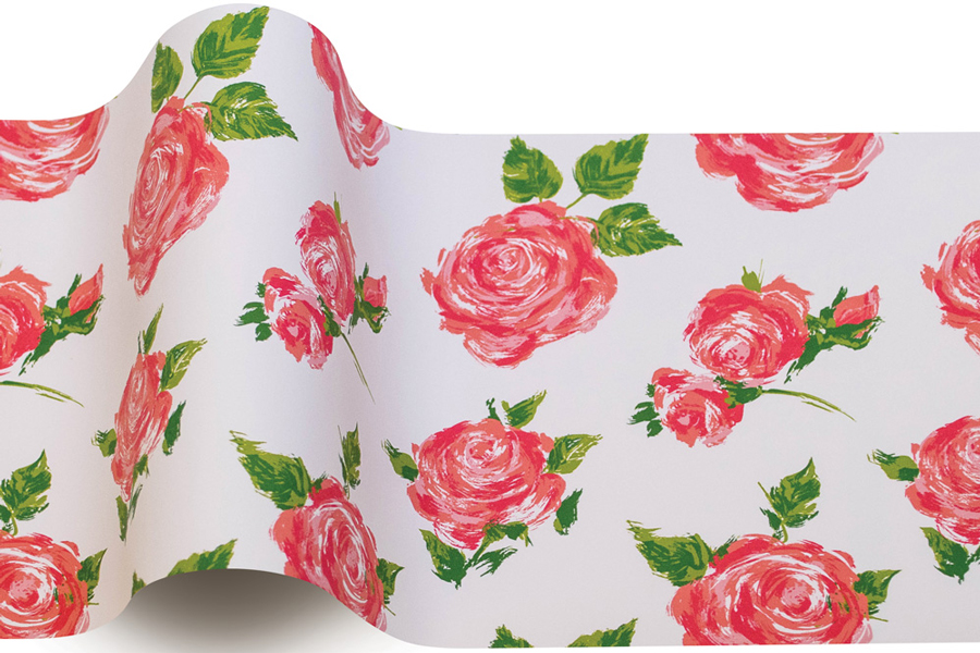 20 x 30 COTTAGE ROSE TISSUE PAPER