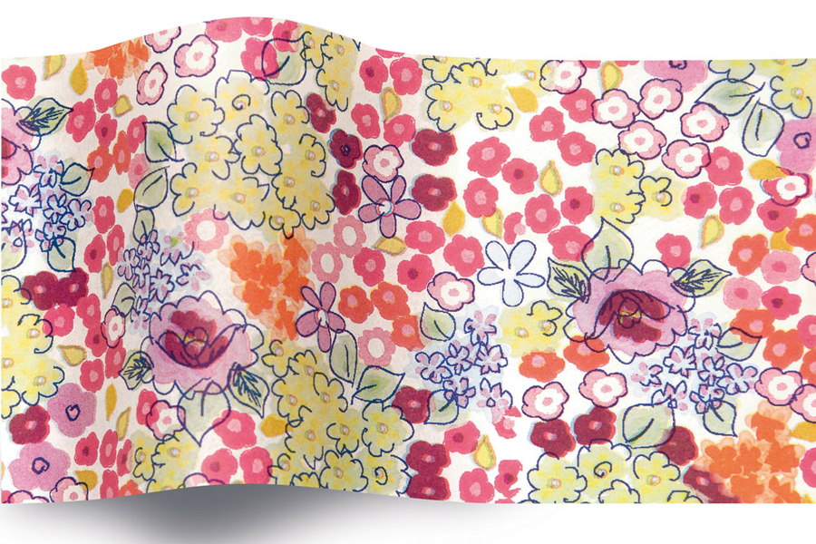 20 x 30 SATINWRAP TISSUE PAPER - LIBERTY BLOOM