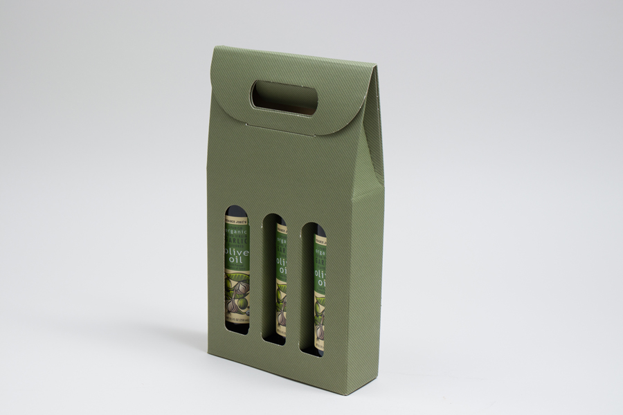 Gourmet Bottle Carrier Boxes