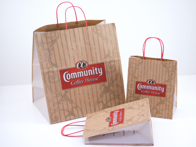 Custom Printed Paper Bags-Eurototes, Shopping Bags, etc