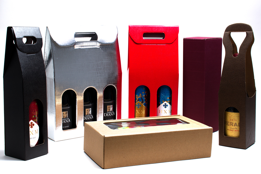 Wine Packaging - Wine Bottle Boxes & Carriers