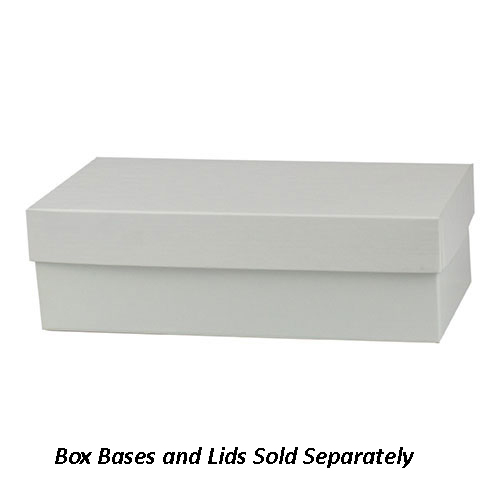 10 x 5 x 3 WHITE GLOSS HI-WALL GIFT BOX BASES *LIDS SOLD SEPARATELY*