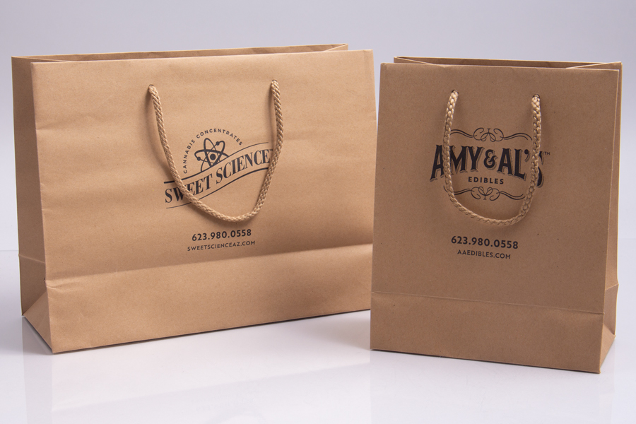 Semi-Custom Printing Options - Ink Printed Shopping Bags - White Mountain Health