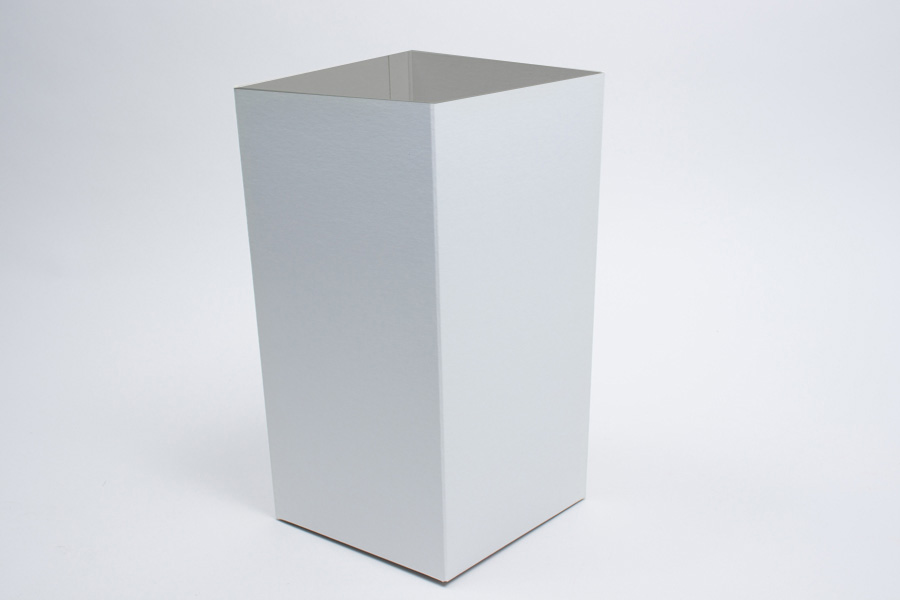 6 x 6 x 9 WHITE GLOSS HI-WALL GIFT BOX BASES *LIDS SOLD SEPARATELY*