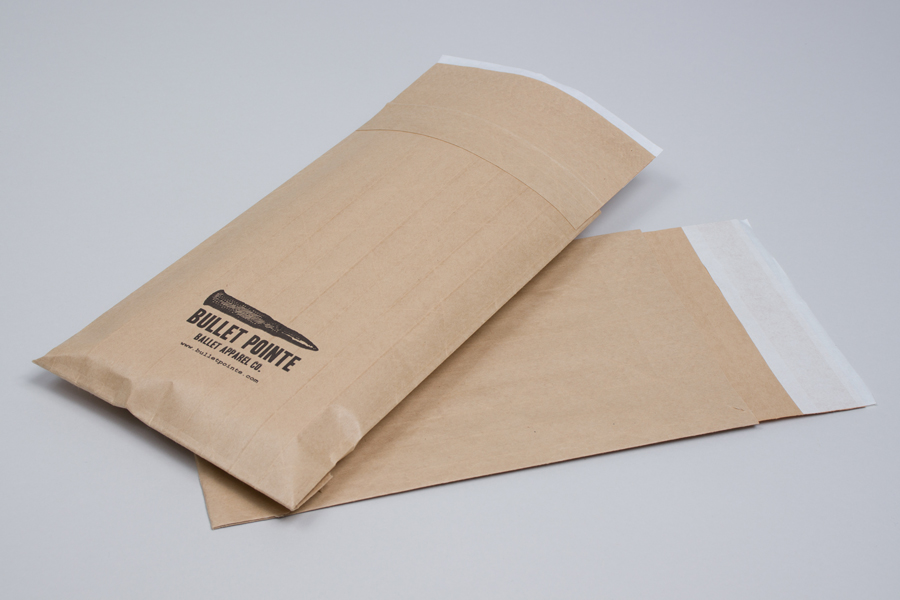 Custom printed paper shipping bags - Bullet Pointe