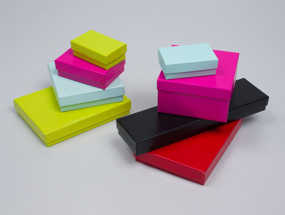 MC - Paper Boxes - Jewelry - Gloss Colors