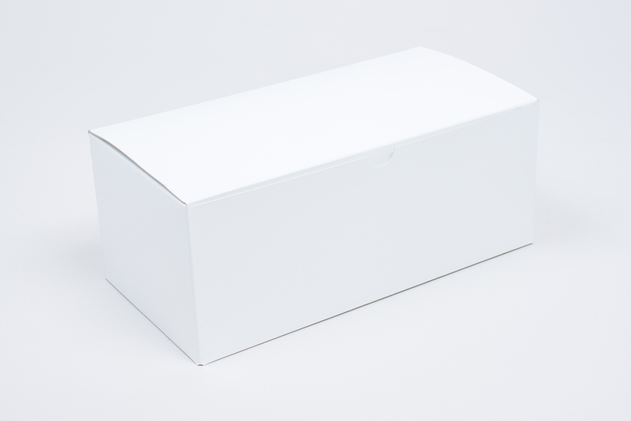10 x 5 x 4 WHITE GLOSS TUCK-TOP GIFT BOXES