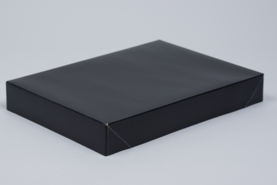 11.5 x 8.5 x 1.6 BLACK GLOSS APPAREL BOX