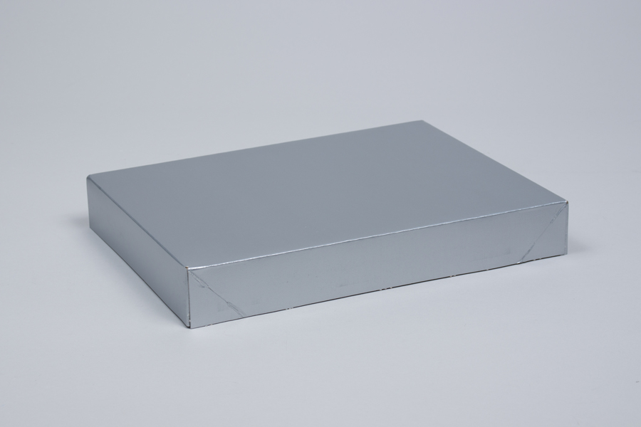 11.5 x 8.5 x 1.6 SILVER GLOSS APPAREL BOX