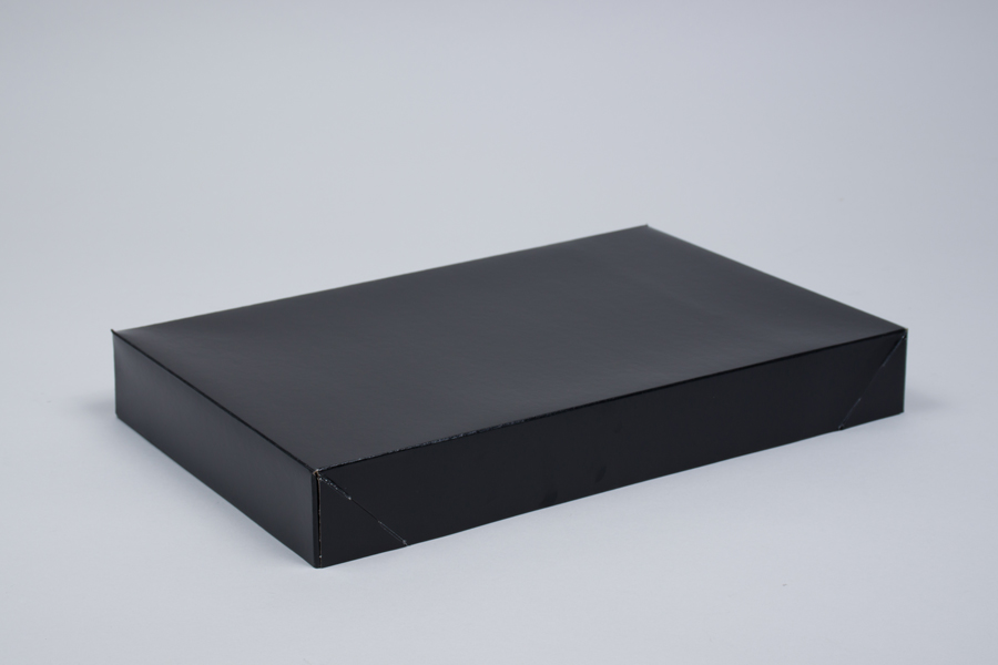 15 x 9.5 x 2 BLACK GLOSS APPAREL BOX