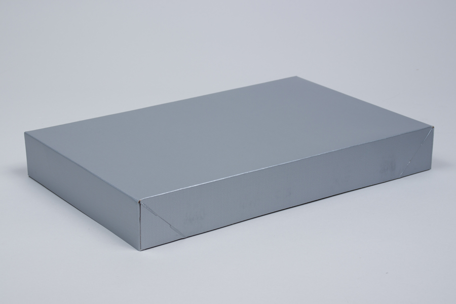 15 x 9.5 x 2 SILVER GLOSS APPAREL BOX