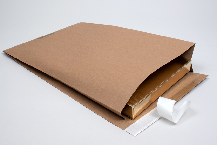 10-1/2 X 3-3/4 X 19 (#10G) ECO-NATURAL PAPER SHIPPING BAGS