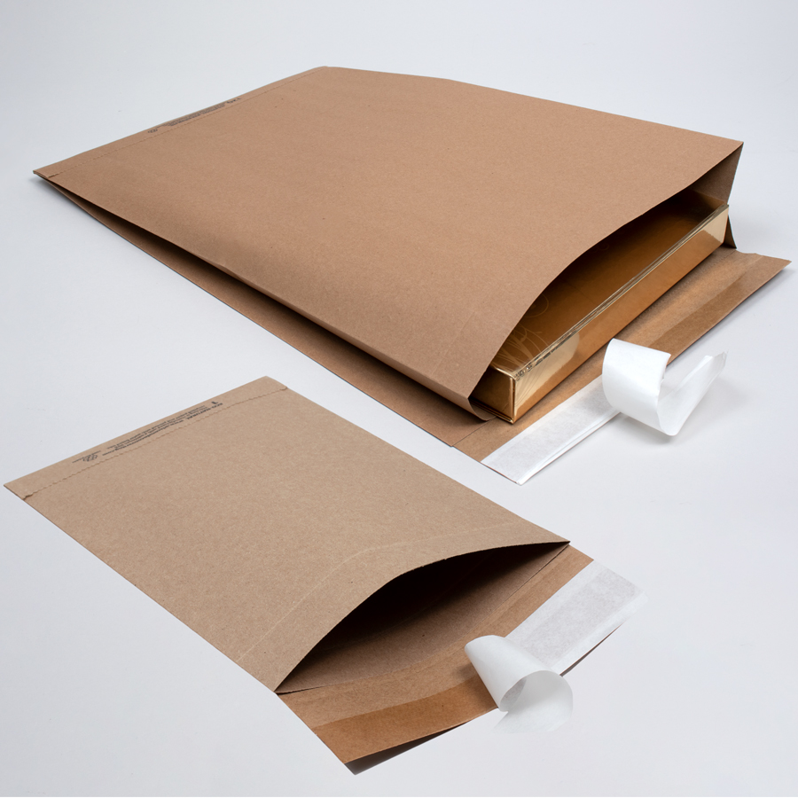 Eco Natural Paper Shipping Bags