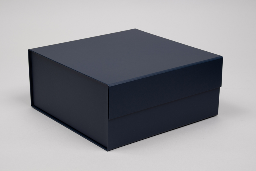 10 x 10 x 4-1/2 MATTE NAVY MAGNETIC LID GIFT BOXES