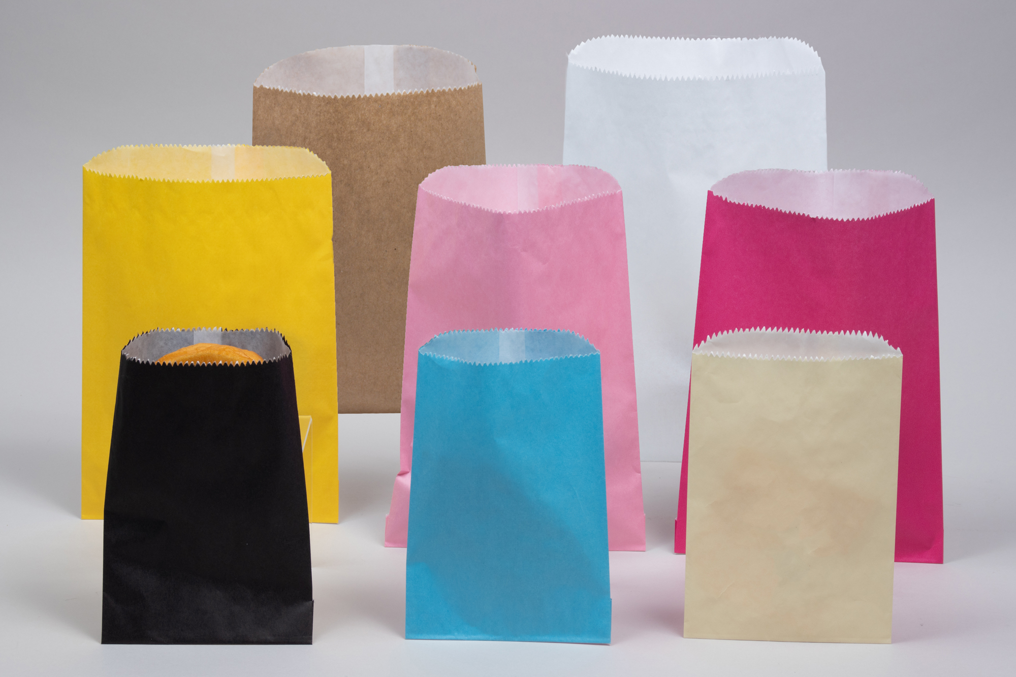 Glassine Gourmet Food Paper Bags