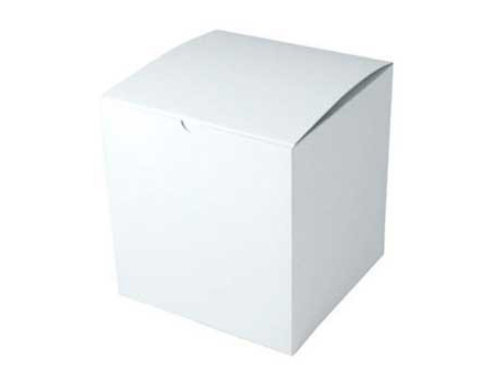 Clearance Item - White Gift Gloss Boxes