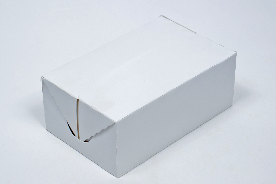 7 X 4 1 2 3 White Fast Top Carry Out Box