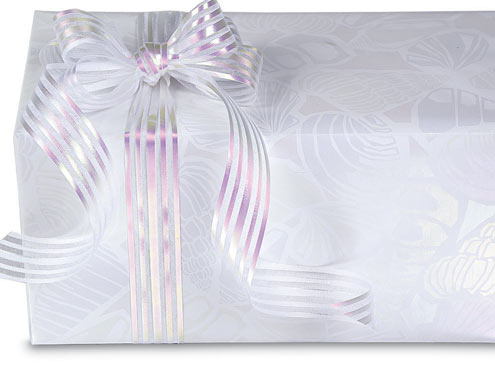 How To Wrap A Wedding Gift Box : Wedding Gift Wrap