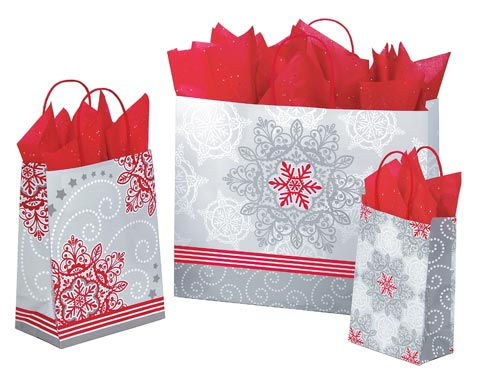 Christmas Lace Paper Ping Bags