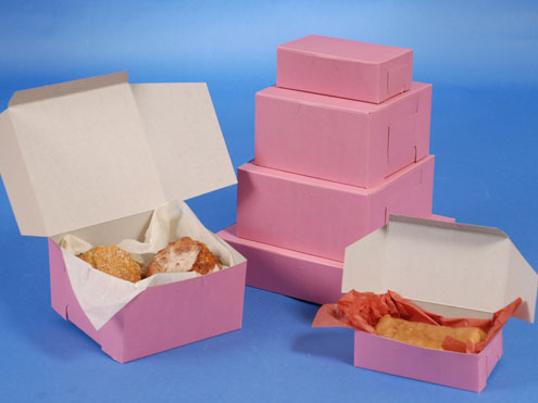 MC - Paper Boxes - Bakery - Strawberry