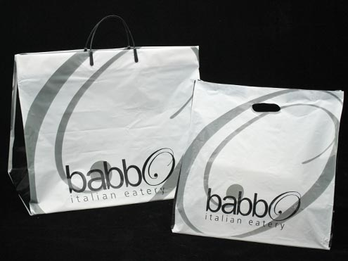 Custom Printed Carry Out Bags - Paper and Plastic Bags