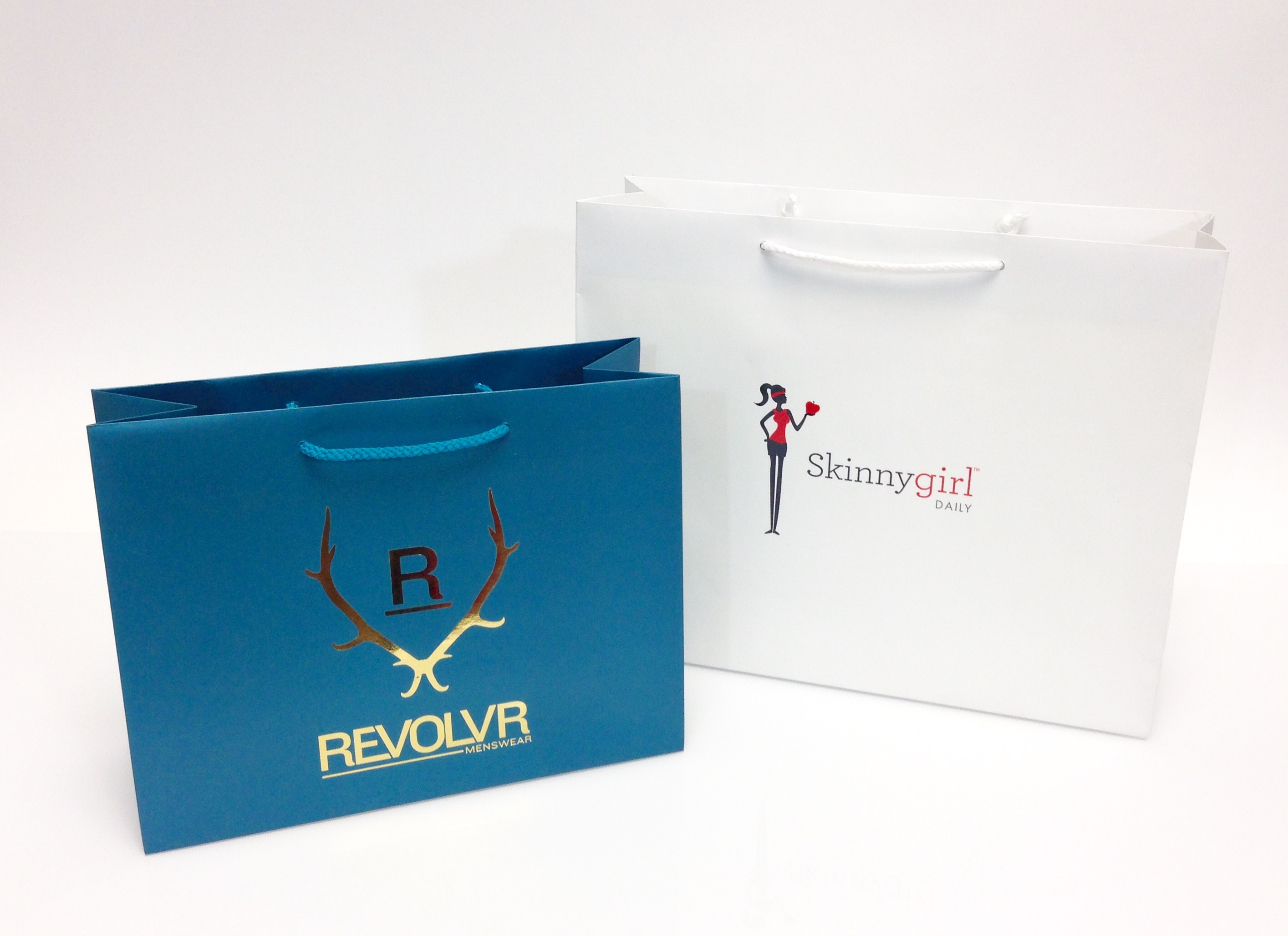 Printed Eurotote Shopping Bags - Paper & Plastic