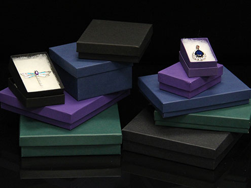 MC - Paper Boxes - Jewelry - Matte Colors
