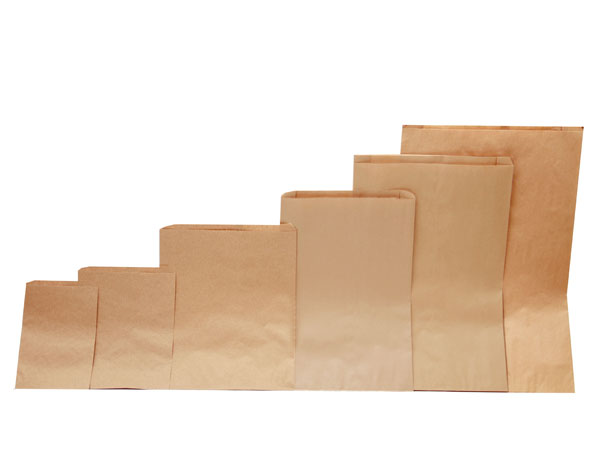 MC - Paper Bags - Merchandise - Natural Kraft