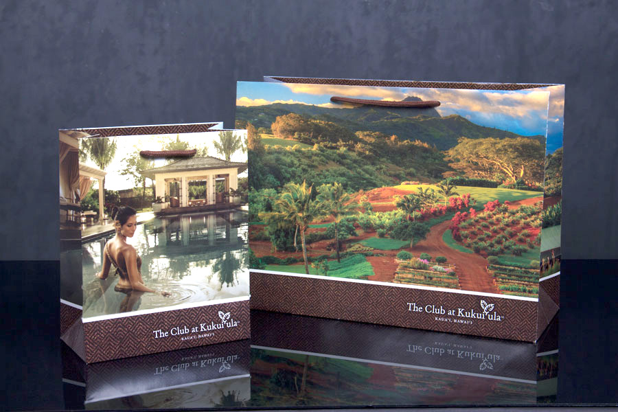 Custom Luxury Resort Packaging