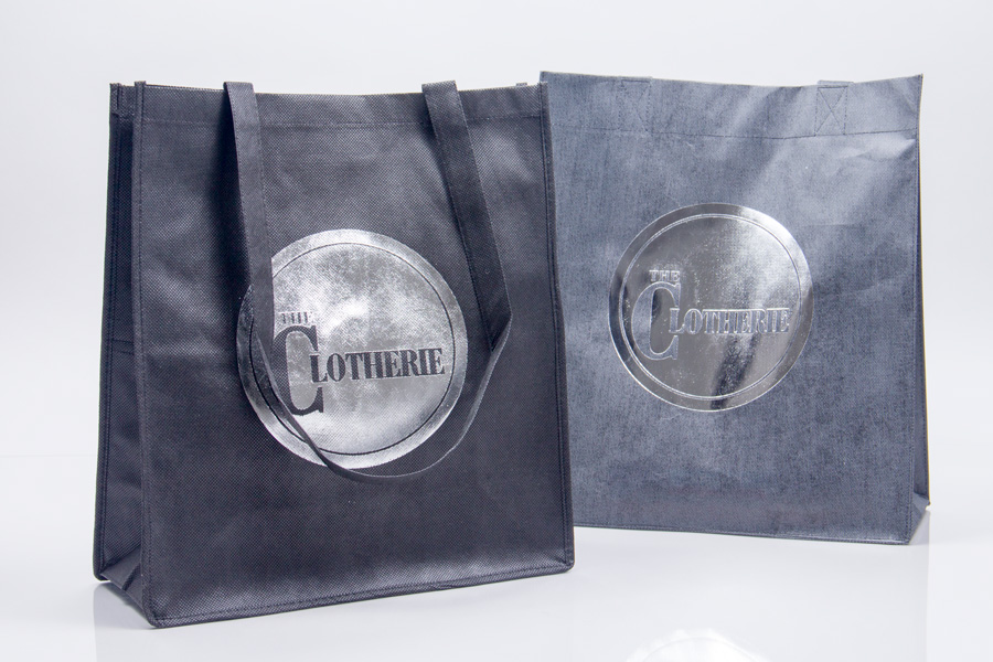 Custom printed non-woven reusable bag - Clotherie